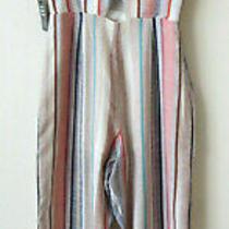 Express Slvless Spaghetti Srtaps Jumpsuit Multi Color Side Zip Xxs/ttp New 59 Photo