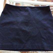 Express Solid Black Stretch Mini Skirt Spandex Size 4 Photo