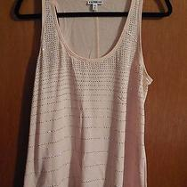 Express Sparkle Tank  Size M Photo