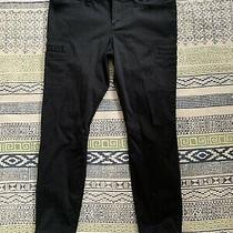 Express Stella Ankle Low Rise Women's Black Jeans Size Size 12 Photo