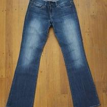 Express Stella Boot Cut Faded Blue Jeans Size 6 Photo
