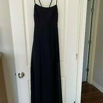 Express Strappy Overlay Maxi Dress Black Size Xs Photo