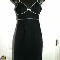 Express   Stretch  Black & White Dress  Size 2 Photo