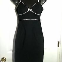 Express   Stretch  Black & White Dress  Size 2 Photo
