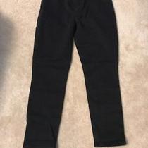 Express Stretch Cropped Jean Legging Black Size 6 Photo