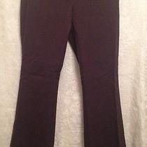 Expressstretch Flare Brown Dress Pants - Size 3/4 - Nice Photo