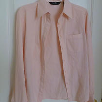 Express  Stretch  Long Sleeves Shirt  in Pink . Size 7/8   Photo