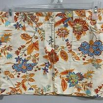 Express Stretch Women's Mini Pencil Skirt Size 9/10 Floral Pattern Zip Photo