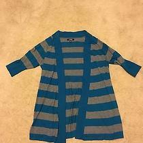 Express Stripe Cardigan Medium  Photo