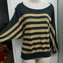Express Stripe Sweater  Sz Medium  Photo