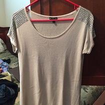 Express Studded Shoulder Blouse Photo