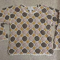 Express Surfer Style Cool Cotton Crochet Top Size S Photo