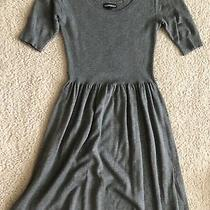 Express Sweater Dress Extra Small Grey Photo