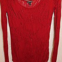 Express Sweater Woman Size S Photo