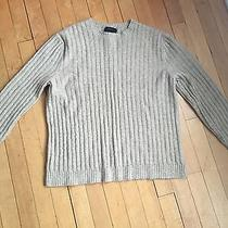 Express Sweater Wool/cashmere Sz L Tan Colored Photo