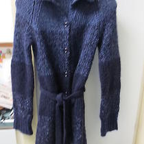 Express Sweatercoat Multi Purples and Other Colors Small  Photo