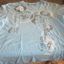 Express T-Shirt - Light Blue - Medium -