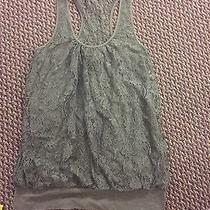 Express Tank Army Green Size S Photo
