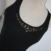 Express Tank Top Blouse Black     Size S Photo