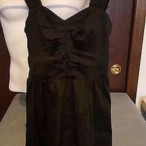 Express Tank Top Blouse Top Zips on the Side Black Size 0 Photo