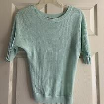 Express Teal Green Sweater Top Shirt Size Xs Pre Owned Photo