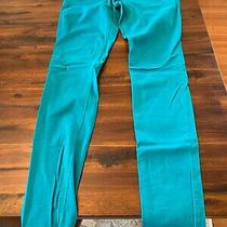 Express Teal Skinny Jeans Size 6 Photo