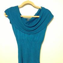Express Teal Sweater Blouse Photo