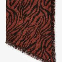 Express  Tiger Print Scarf  Animal Print  New Photo