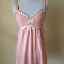 Express Top Sequin Small S Pink C27 Photo