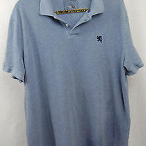 Express Top Size Xlarge Blue Polo Mens Casual Dress Shirt Photo