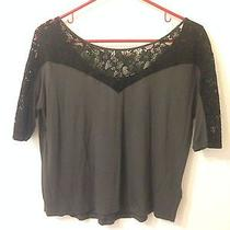 Express Top With Lace Xs Photo