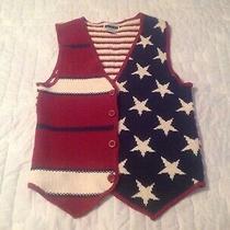 Express Tricot Patriotic Vest Size Xs Photo