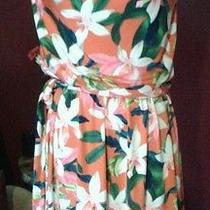 Express Tropical Print Dress Photo