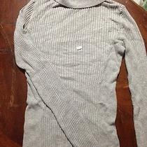 Express Turtle Neck Cable Sweater Large Photo