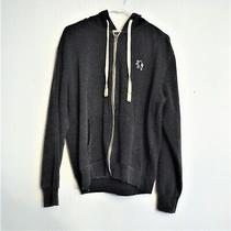 Express Unisex Zip Up Hoodie Very Nice Condition Size Large Logo on Hoodie Photo
