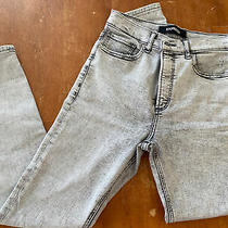 Express Vintage Inspired High Wasted Acid Wash Size 8 Jeans Photo