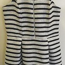 Express White Striped Dress Size 8 Never Worn Photo