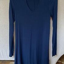 Express Woman Dress Long Sleeve Size Xs/tp Black Photo