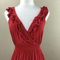 Express Woman's Red Tank Top Dress Sz. Xs  Photo