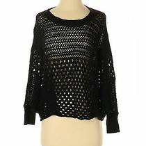 Express Women Black Pullover Sweater Xs Photo