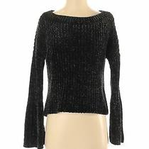 Express Women Black Pullover Sweater Xs Photo