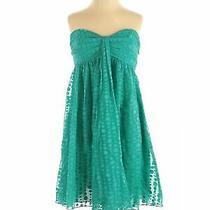 Express Women Blue Casual Dress 2 Photo