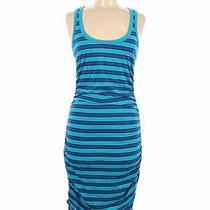 Express Women Blue Casual Dress M Photo