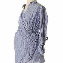 Express Women Blue Casual Dress Xs Photo