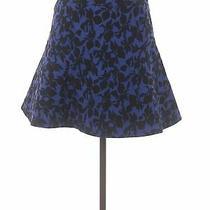 Express Women Blue Casual Skirt 6 Photo