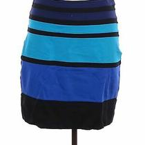 Express Women Blue Casual Skirt 8 Photo