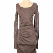 Express Women Brown Casual Dress S Photo