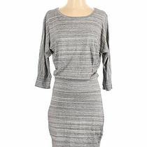 Express Women Gray Casual Dress S Photo