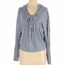 Express Women Gray Pullover Hoodie S Photo