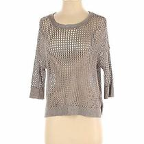 Express Women Gray Pullover Sweater S Photo